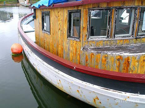 Rusty Boat by Dawn Kori Snyder