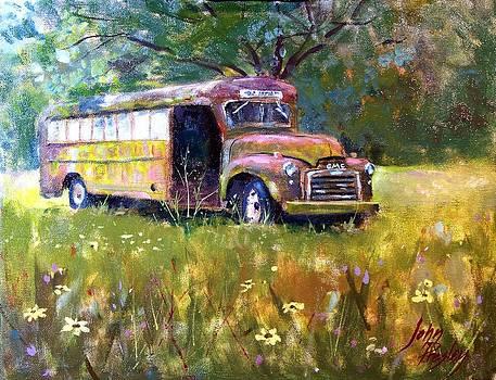 Rusty Bus by John Presley