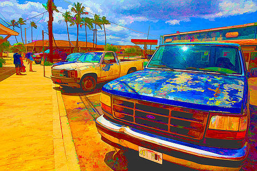 Rusty cars by Esther Branderhorst