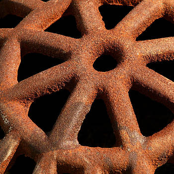 Art Block Collections - Rusty Drain Grate
