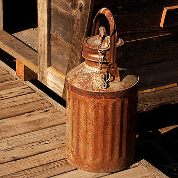 Art Block Collections - Rusty Milk Can