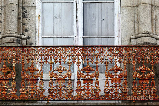 James Brunker - Rusty Old Balcony