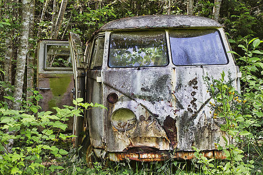 Peggy Collins - Rusty Old VW Van