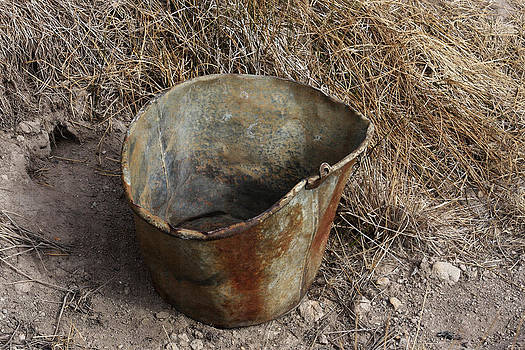 Art Block Collections - Rusty Pail