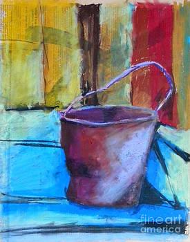 Rusty Pot by Toshiko Tanimoto