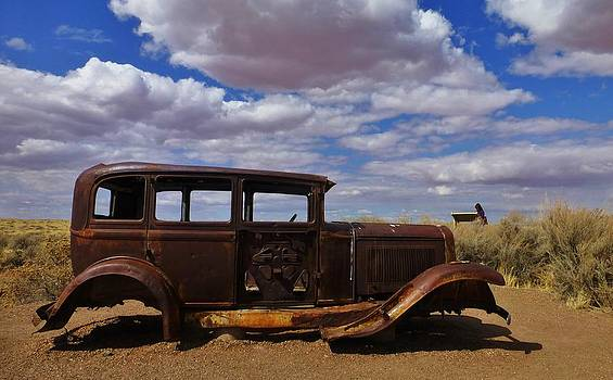 Rusty Route 66 AZ by Rob Hallifax