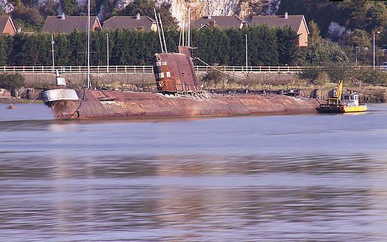 David French - Rusty Russian Submarine W11