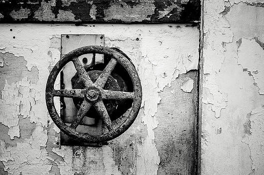 Rusty Wheel by Off The Beaten Path Photography - Andrew Alexander