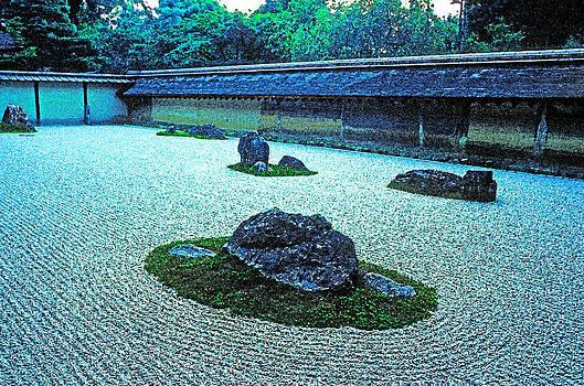 Dennis Cox - Ryoanji Zen garden