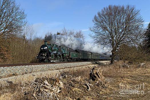 S 3/6 3673 on the Allgaeu railway  by Christian Spiller