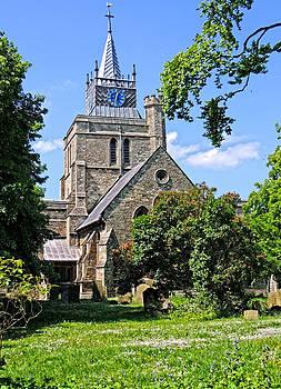 S. Marys Church Aylesbury by Marilyn Holkham