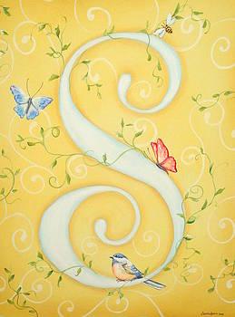 S Monogram by Sandra Lett