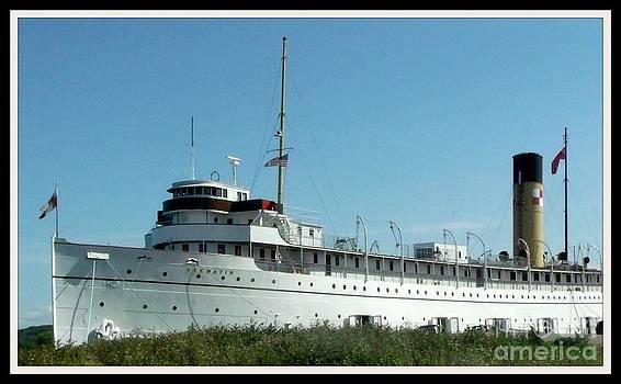 Gail Matthews - S. S. Keewatin Steamship