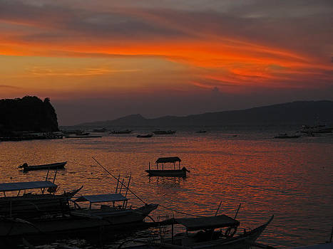 Sabang Sunset by Pete Marchetto