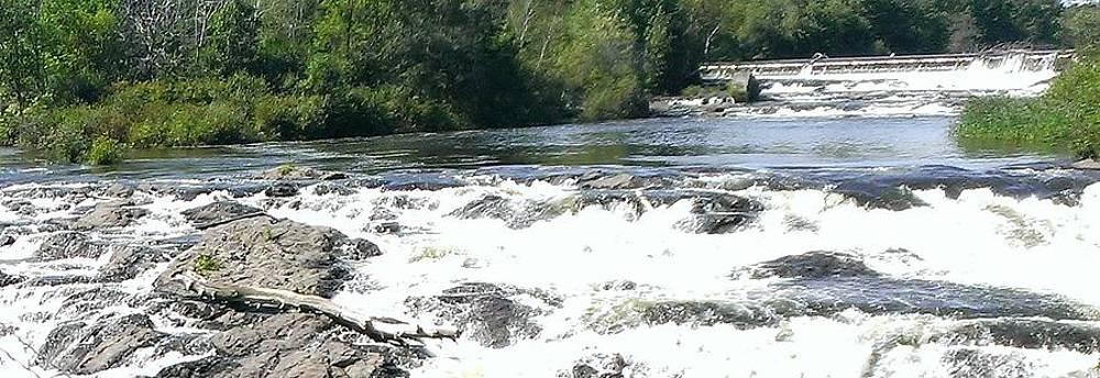 Saccarappa Falls by Jennifer Fliegel