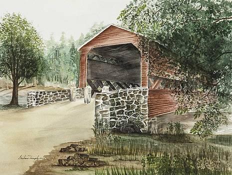 Sachs Covered Bridge 1852 by Barbara Murphy