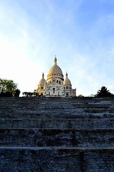 Sacre Coeur Afternoon by Riad Belhimer