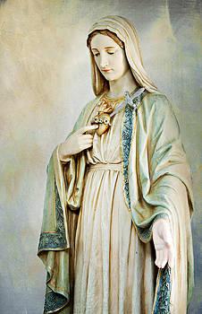 Sacred Heart of Mary by Karen Varnas
