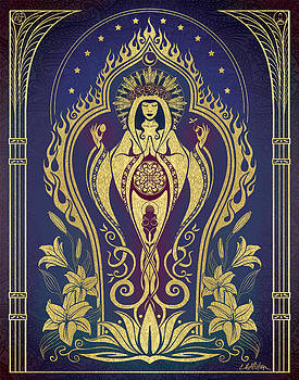 Sacred Mother - Global Goddess Series by Cristina McAllister