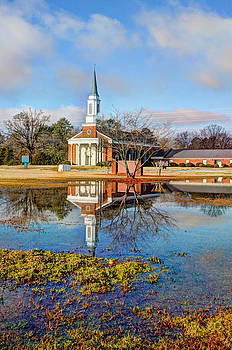 Sacred Reflection by Donna Vasquez