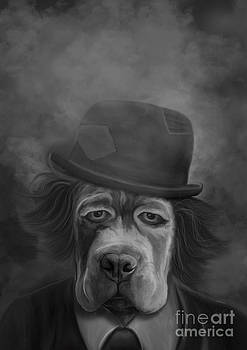 Sad Dog by Ivan Pawluk