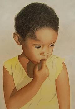 Sad Girl by Carolyn Judge