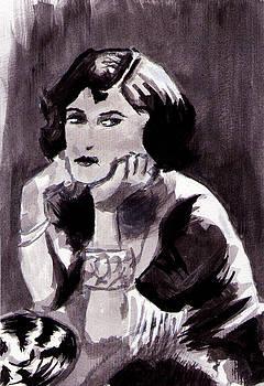 Sad Girl by Clauser Oliboni