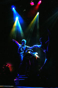 Saddle Dancers by Al Shields
