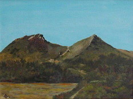 Saddleback Mountain by Terry Sonntag