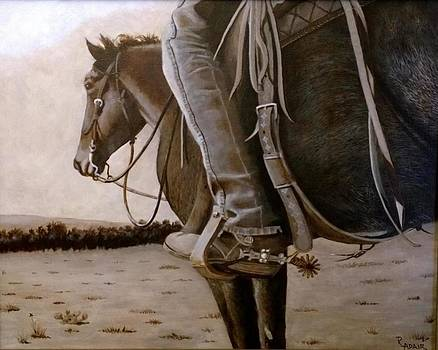 Saddled up and Ready to Go by R Adair