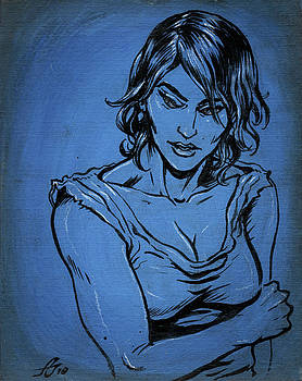 Sadie Blue by John Ashton Golden