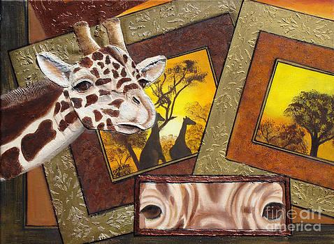 Safari Series-Giraffe by Darlene Green