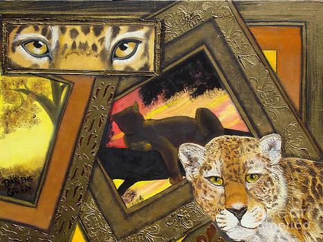 Safari Series-Leopard by Darlene Green