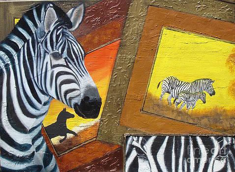 Safari Series-Zebra by Darlene Green