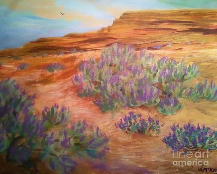 Sagebrush In Spring by Suzanne McKay