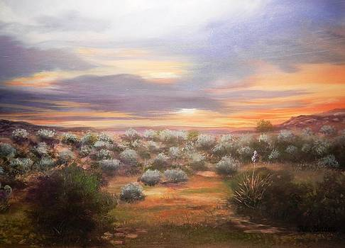 Sagebrush Sunset by Patti Gordon