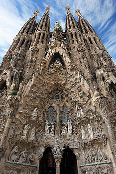 Sagrada Familia Barcelona by Ron Sumners