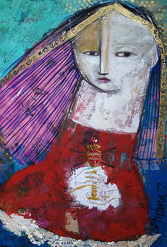 Sagrado Corazon by Thelma Lugo