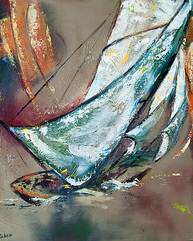 Sail Away VII by Sharon Sieben