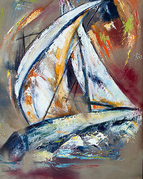 Sail Away VIII by Sharon Sieben