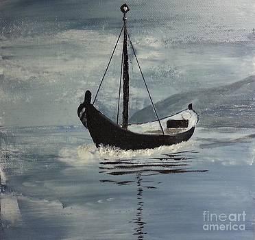 Sail-boat by Susanne Baumann