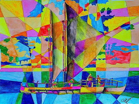 Sail Way II by Dale Jackson