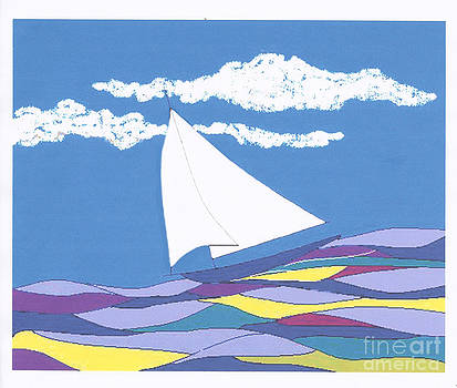 Sailboat - 2013 by Fred Jinkins