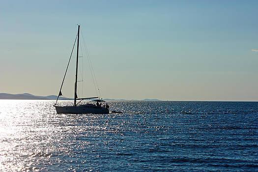 Sailboat by Borislav Marinic
