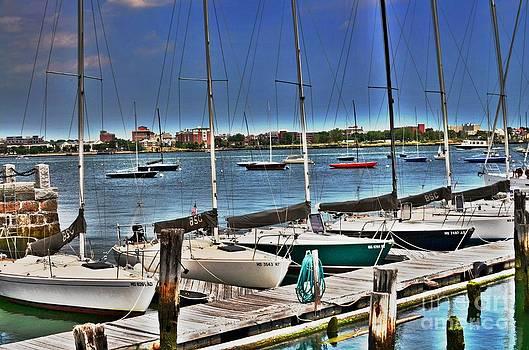 Sailboat Dock  by Sarah Mullin