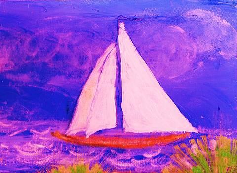 Anne-Elizabeth Whiteway - Sailboat from a Child