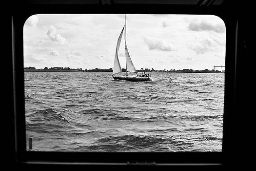 Jay Evers - Sailboat on River Elbe