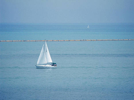 Sailboat  by Richelle Munzon