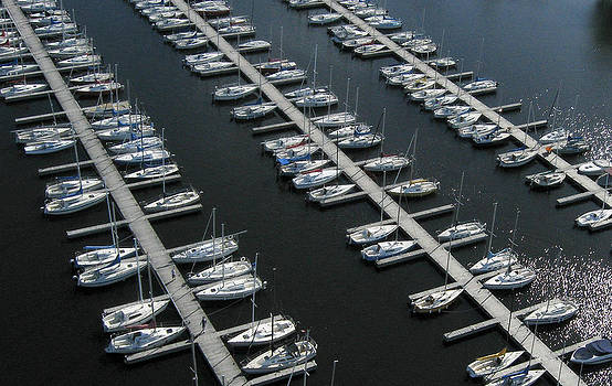 Sailboats at Rest by Rob Huntley