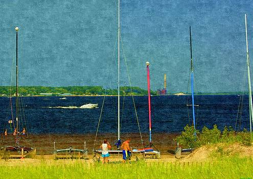 Rosemarie E Seppala - Sailboats Beached